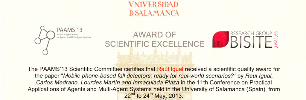 Award of Scientific Excellence