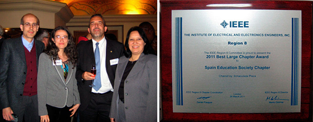 2011 Best Large Chapter Award - IEEE Region 8